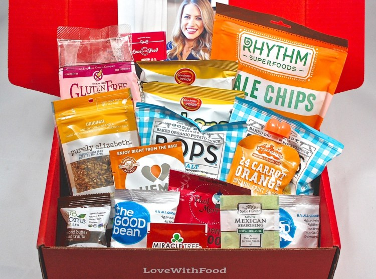 Love With Food March 2015 Gluten Free Review, FREE Box, and Coupon Code