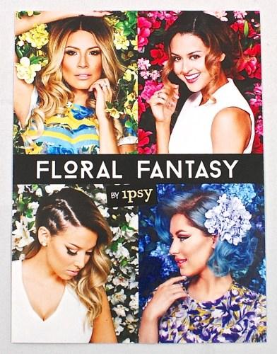 Ipsy Floral Fantasy