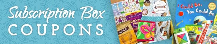 Subscription Box Coupon Codes