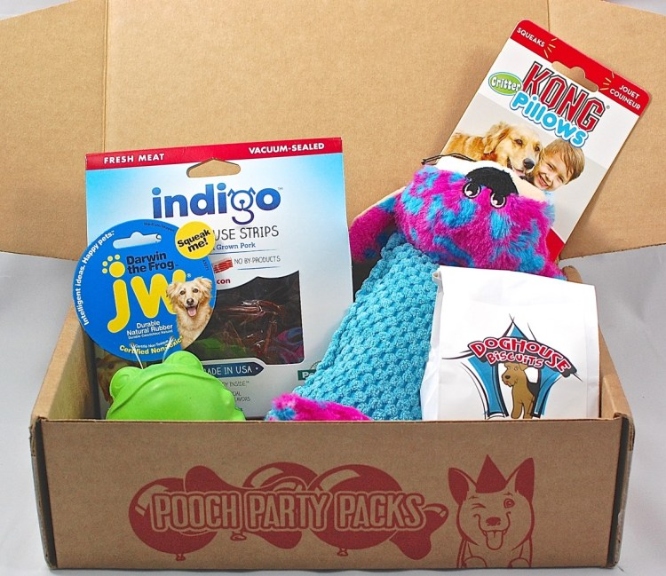 Pooch Party Packs April 2015 Review