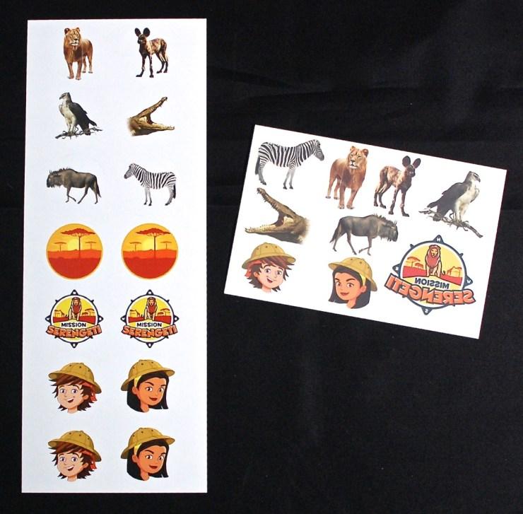 Junior Explorers stickers