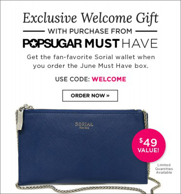 POPSUGAR Must Have FREE Gift With Purchase