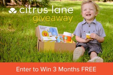 Citrus Lane giveaway