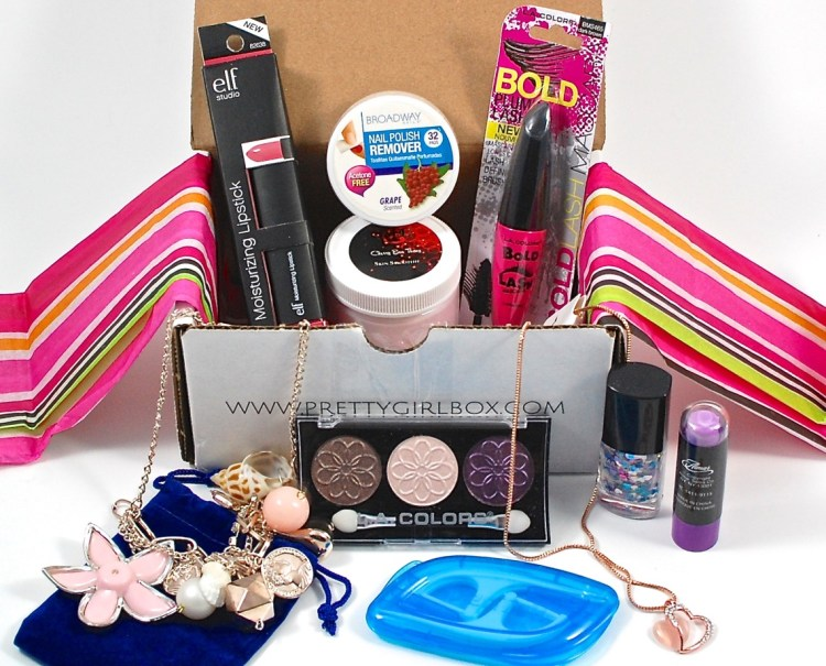 Pretty Girl Box May 2015 Review