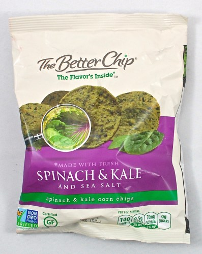 The Better Chip kale spinach