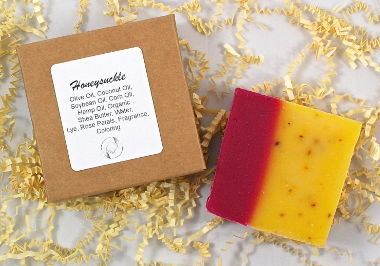 Honeysuckle soap