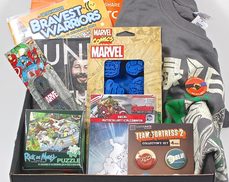 "Loot Crate May 2015 ""Unite"" Review & Coupon Code"
