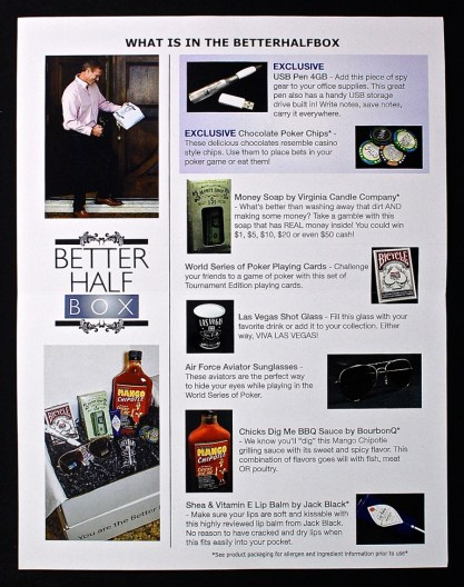 May 2015 Better Half Box Men's