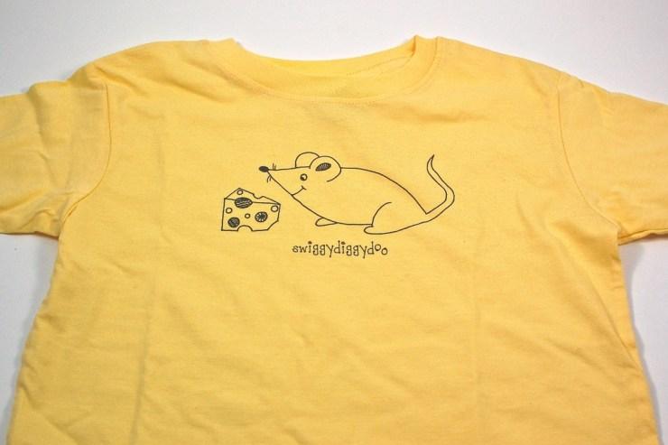 Swiggydiggydoo mouse shirt