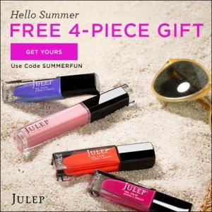 Julep free summer welcome box
