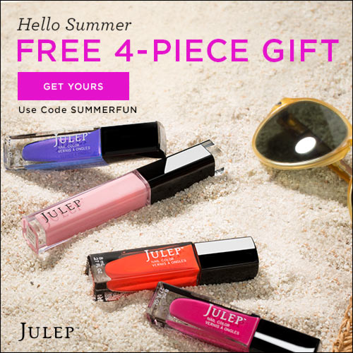 Julep free summer welcome box