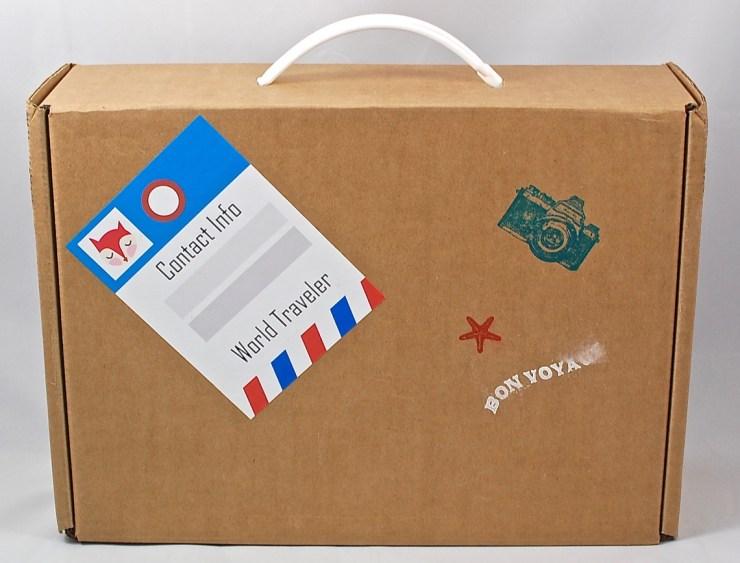 Bramble Box suitcase