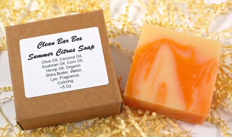 Summer Citrus soap