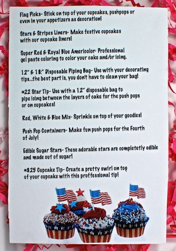 June Cupcake Dazzle