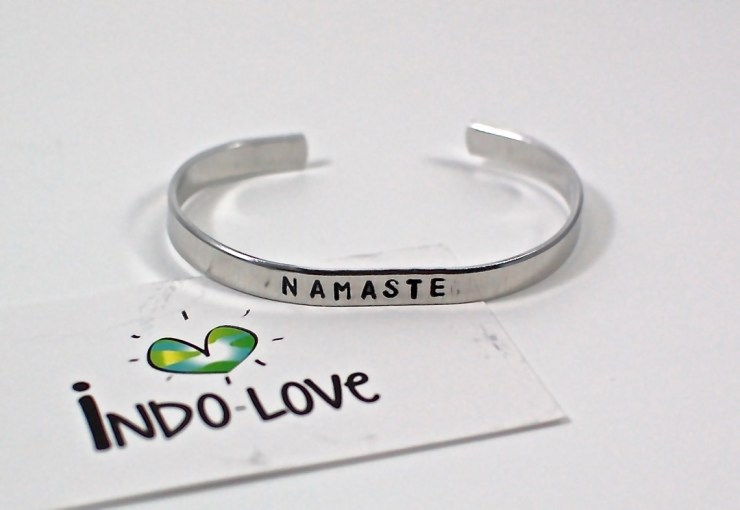 Indo-Love Namaste bracelet