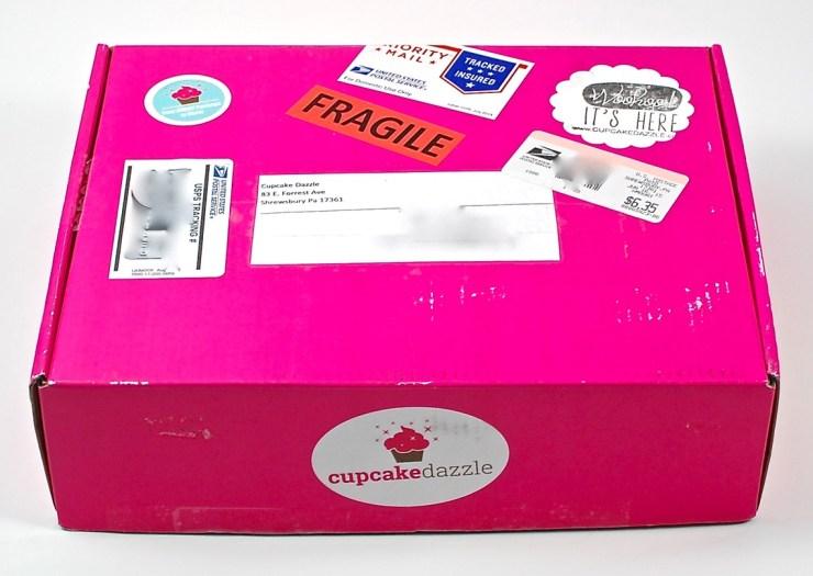 Cupcake Dazzle box