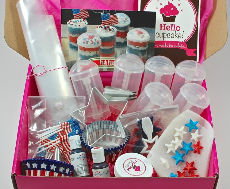 Cupcake Dazzle June 2015 Review