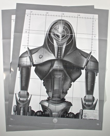 Battlestar Galactica target poster