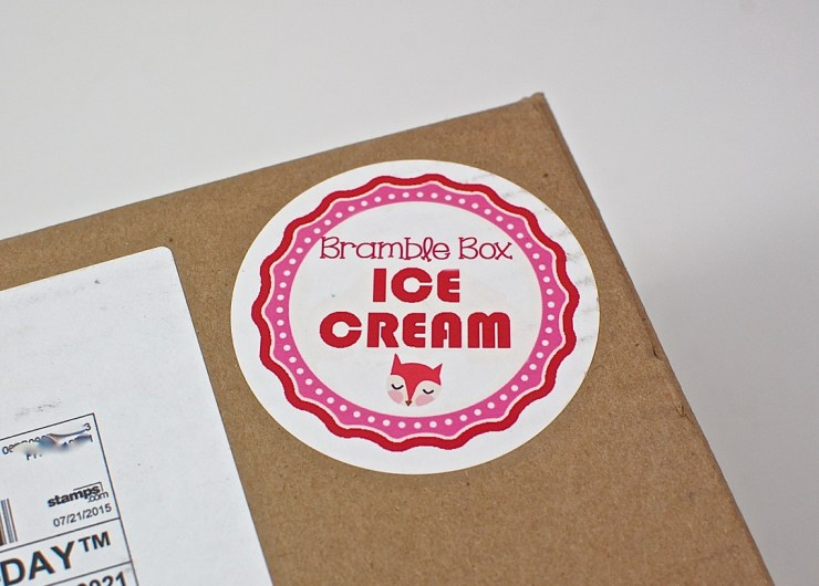 Ice Cream Bramble Box