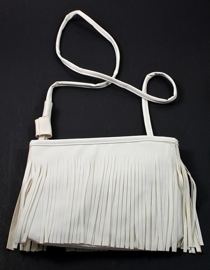 fringed bag