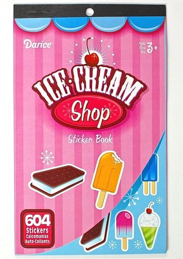 Ice Cream Shop Stickers