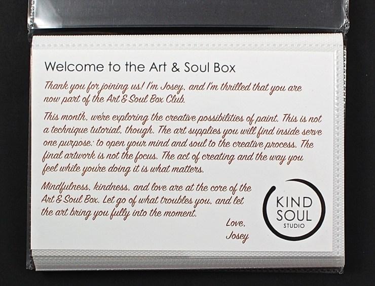 August Art & Soul box