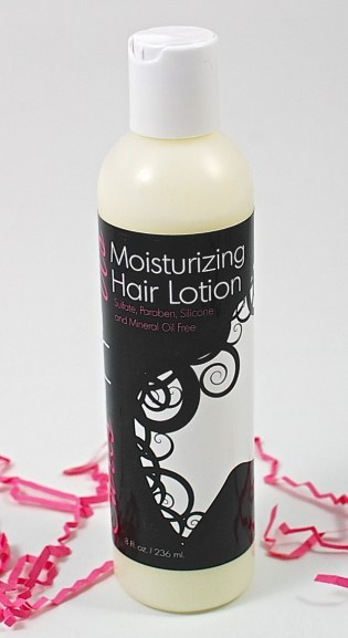 Moisturizing hair lotion