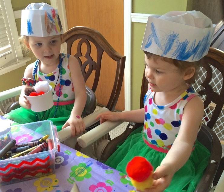 ice cream hats
