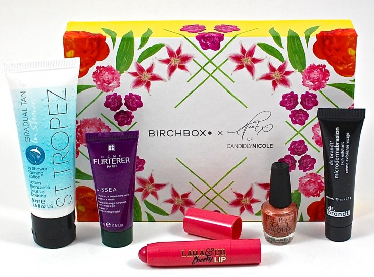 Birchbox August 2015 Candidly Nicole Box Review & Coupon Code