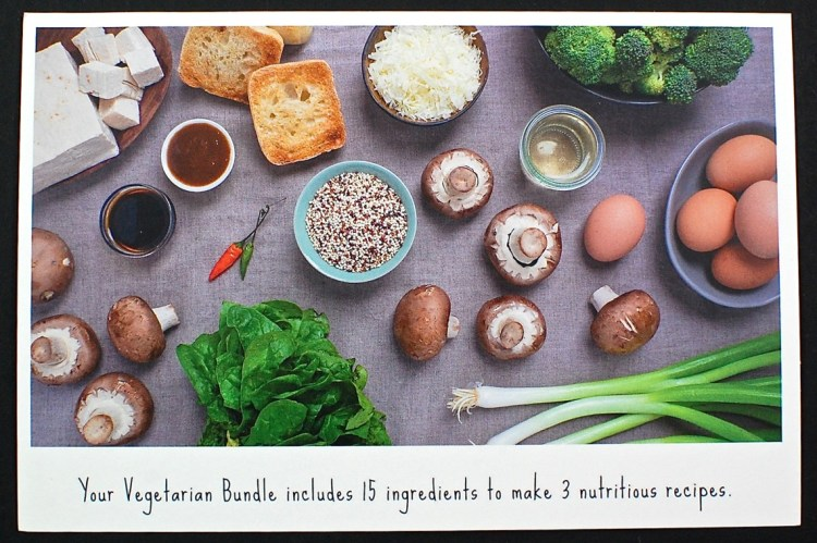 Vegetarian bundle