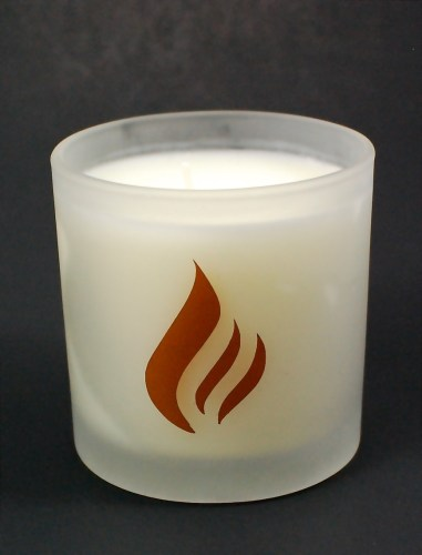 Flicker & Flame candle