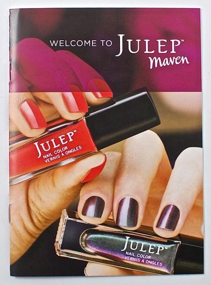 Julep welcome box