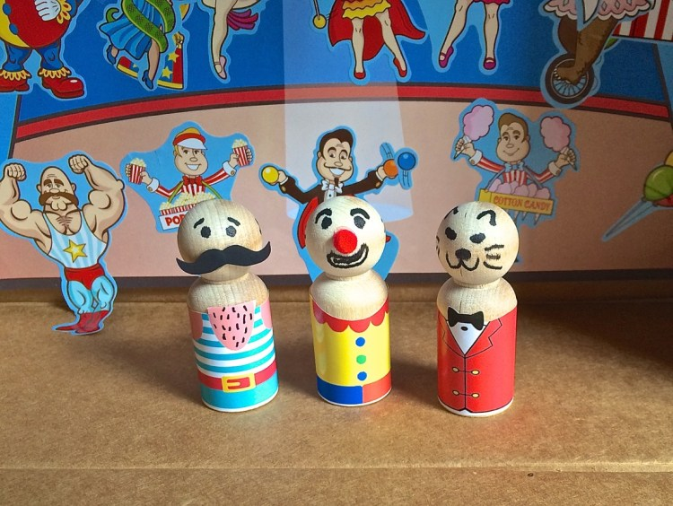 circus peg people