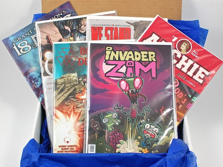 ComicBoxer July 2015 Comic Subscription Box Review