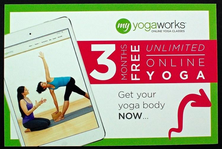 yogaworks voucher