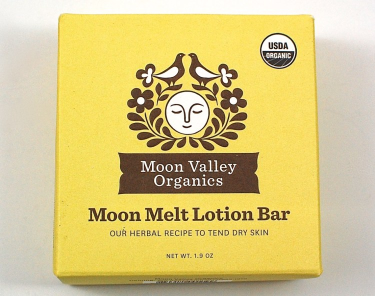 Moon Valley Organics lotion bar