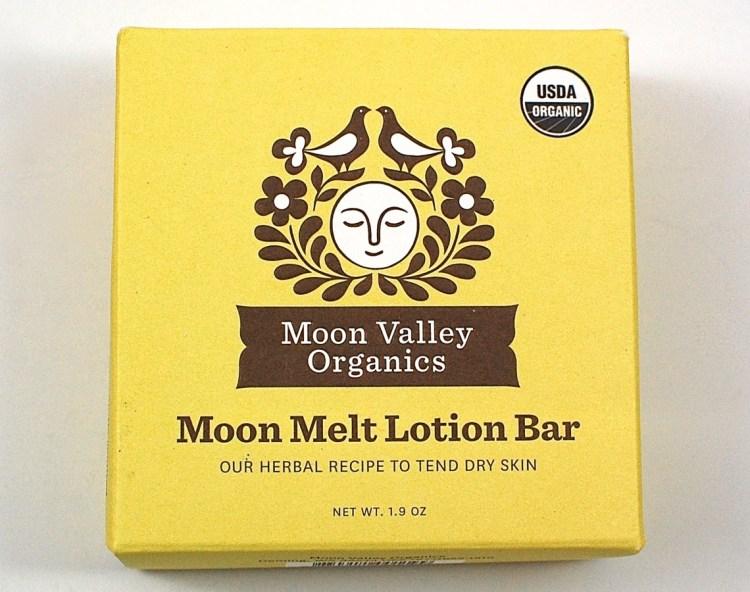Moon Valley Organics lotion bar