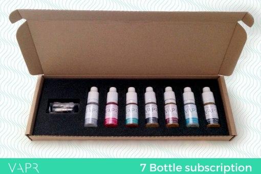7 bottle subscription