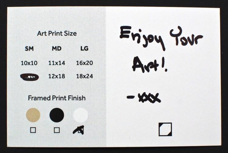 Art Crate print