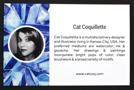 Cat Coquillette print