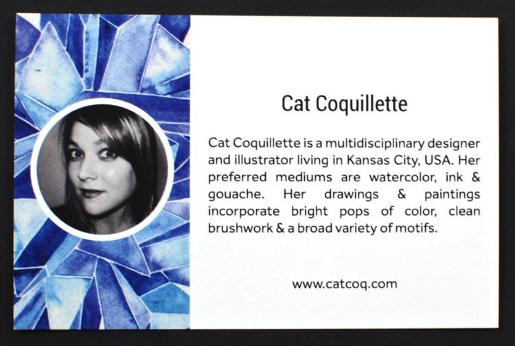 Cat Coquillette print