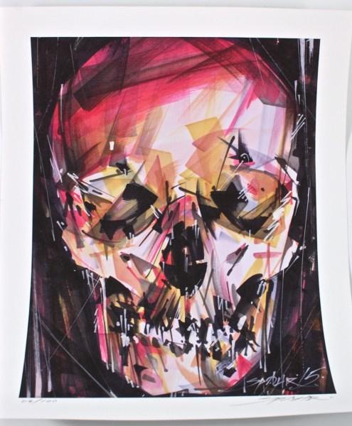 Head Bone print