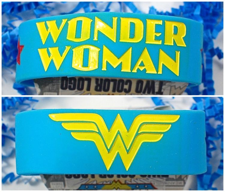 Wonder Woman wrist band
