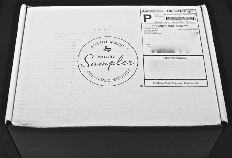 Coterie Sampler box