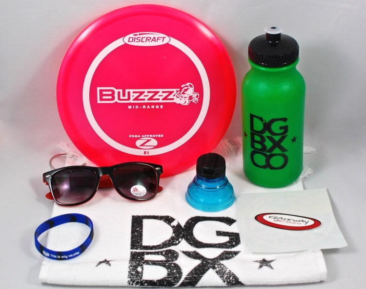 The Disc Golf Box Company September 2015 Review