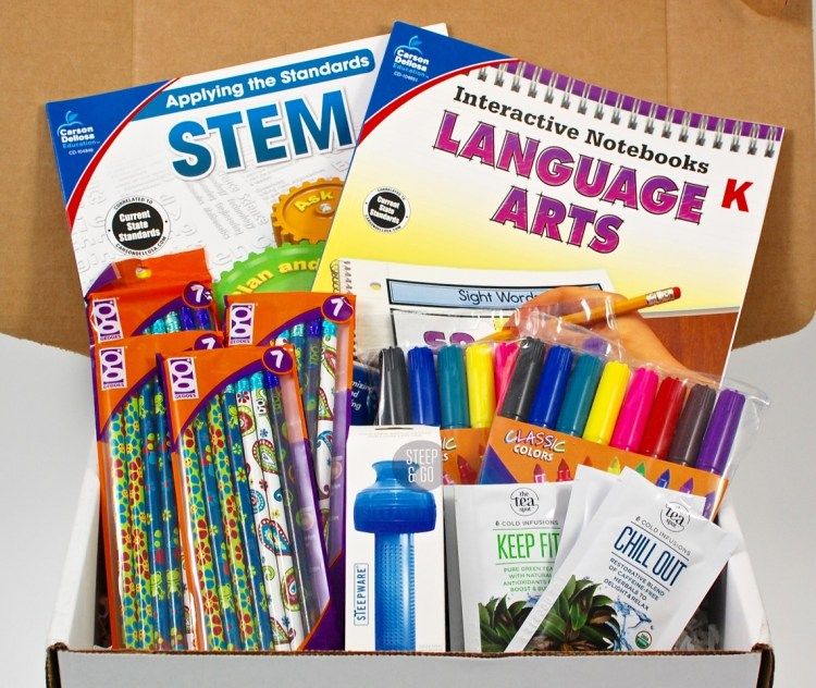 ElementaryBox September 2015 Review & Coupon Code