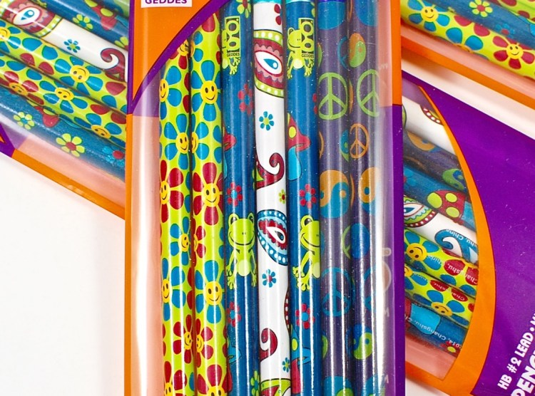 retro pencils