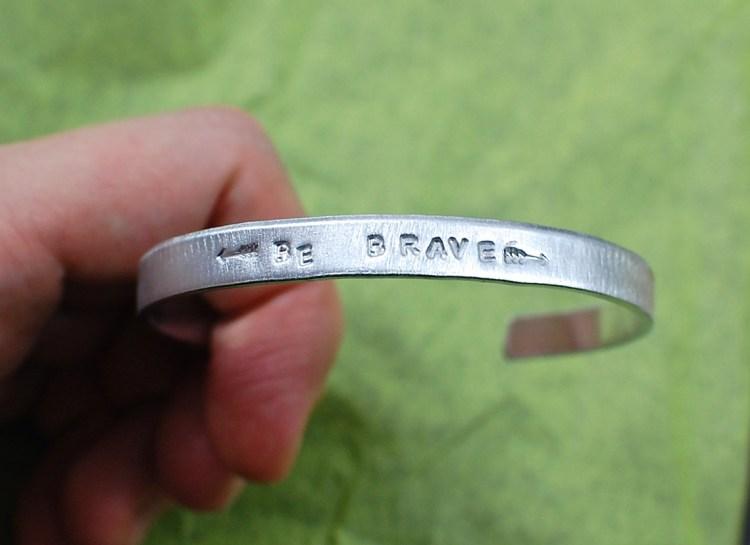 Be Brave bracelet