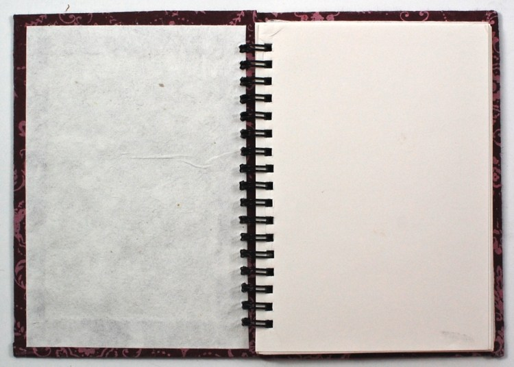 Mulberry Bark notebook