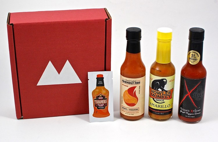 Fuego Box Hot Sauce Club August 2015 Review